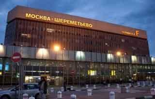 1.) Moskau-Airport: Wegweiser ins nächtliche Nirgendwo