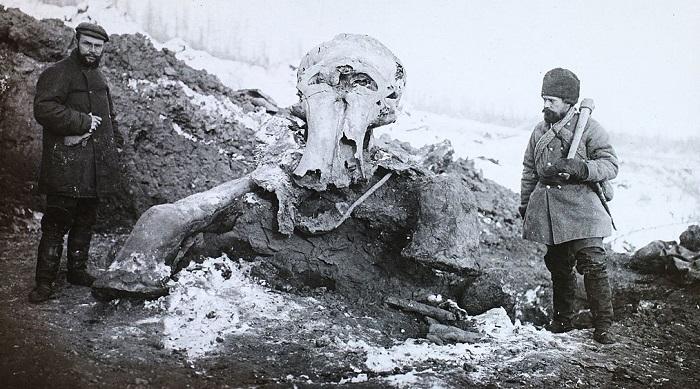 Das Permafrost-Museum am Jenissei