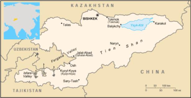 Kirgisistan –  Touristisch