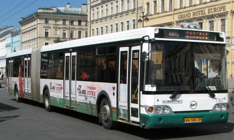 St. Petersburger Busse jetzt mit WiFi