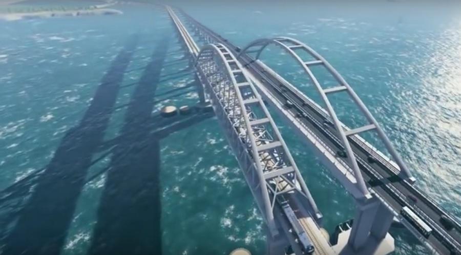 Krim-Brücke ist laut FSB Terrorsicher