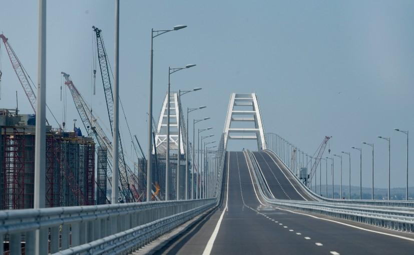 Verkehr auf der Krim-Brücke in den ersten zwölf Stunden bricht alle Rekorde