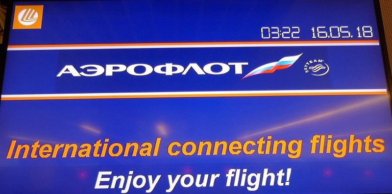 Mehr als 30 Millionen Passagiere vertrauen Aeroflot