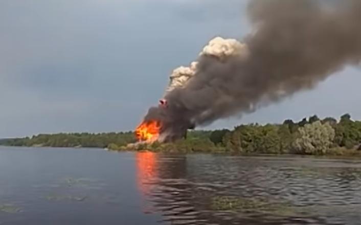 Weltkulturerbe in Karelien abgebrannt [mit Video]