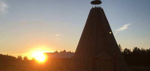 Abendstimmung in Sibirien [Fotos]