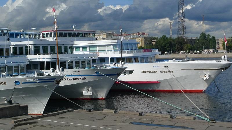 Fast eine Viertelmillion Touristen auf dem Wolga-Moskwa-Kanal