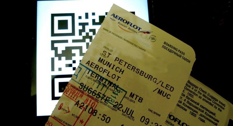 Künftig Barcodes statt Bordkarten auf russischen Flughäfen