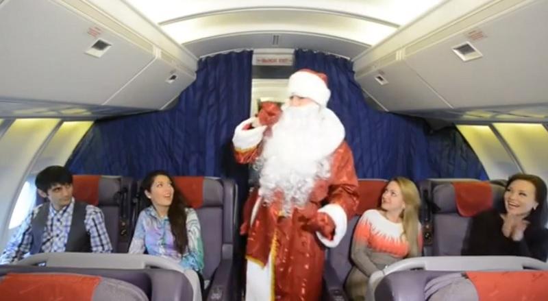 2.000 Russen begrüßen das neue Jahr im Flugzeug