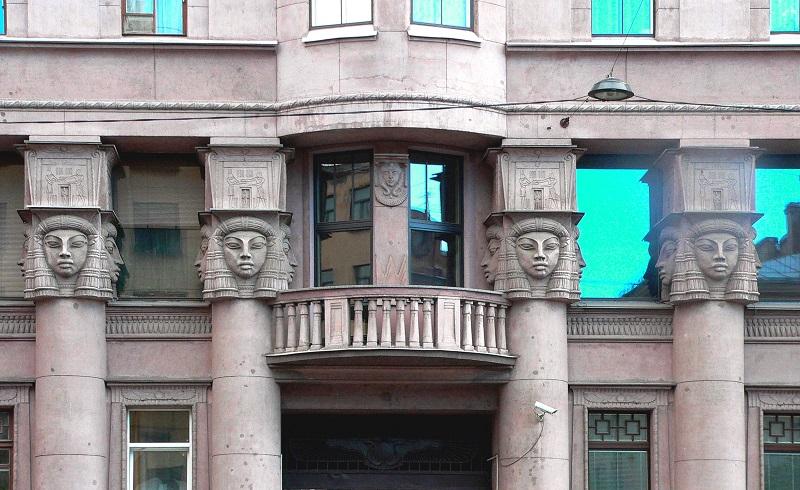 Das Ägyptische Haus in St. Petersburg