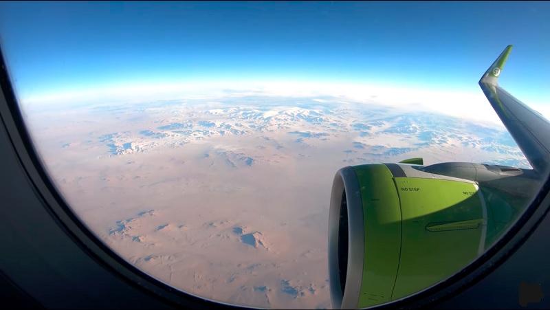 Mitreisende fesseln Fluggast auf dem Weg nach Nowosibirsk