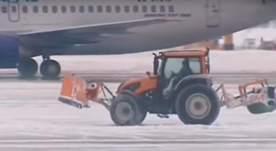 Witterung legt russische Flughäfen lahm