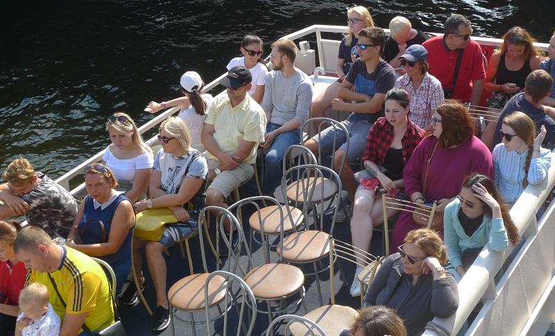 St. Petersburg verzählt sich drastisch bei seinen Touristen
