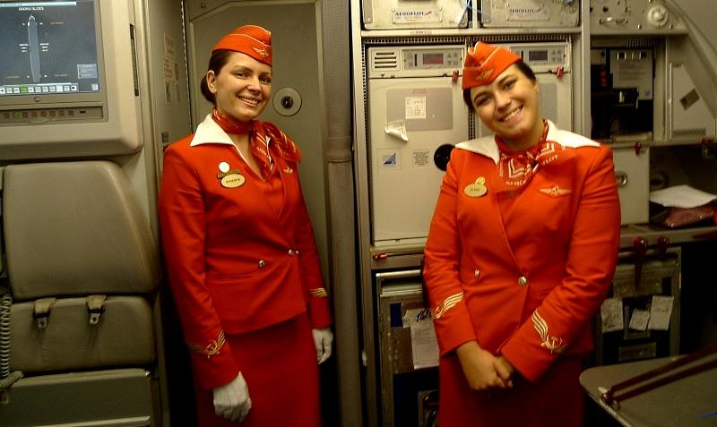Stewardess bei Aeroflot ein Traumjob?